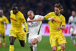 January 30, 2019 - Nantes, France - Wahbi Khazri ( Saint Etienne ) - Abdoulaye Toure ( Nantes ) - KRHIN Rene  (Credit Image: © Panoramic via ZUMA Press)