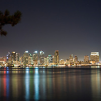 San Diego Skyline from Harbor Island, 2010.