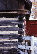 Log cabin, shed, cabin, chinking, Patterns, farm, ranch