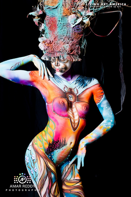 Living Art America::The Bodies Works of Art::The North American Body Painting Championship | A World Body-painting Association Sanctioned Event <br />