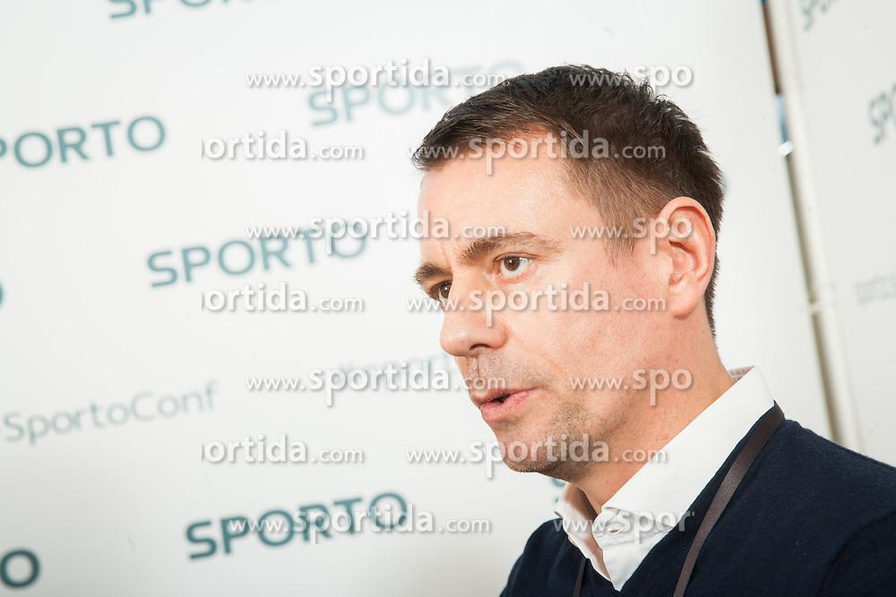 Torsten Wirwas of M&C Saatchi Sport & Entertainment during Sports marketing and sponsorship conference Sporto 2015, on November 19, 2015 in Hotel Slovenija, Congress centre, Portoroz / Portorose, Slovenia. Photo by Vid Ponikvar / Sportida