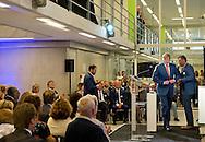 6-9-2016 ZAANSTAD - Koning Willem Alexander verricht dinsdagochtend 6 september in Westzaan de offici&euml;le opening van het Justitieel Complex Zaanstad (JCZ). Het JCZ is de grootste en modernste gevangenis van Nederland, gebouwd in opdracht van het ministerie van Veiligheid en Justitie. Staatssecretaris Klaas Dijkhoff is bij de opening aanwezig. COPYRIGHT ROBIN UTRECHT<br /> 6-9-2016 ZAANSTAD - King Willem Alexander conducted Tuesday morning, September 6 in Westzaan the official opening of the Judicial Complex Zaanstad (JCZ). The JCZ is the largest and most modern prison in the Netherlands, commissioned by the Ministry of Security and Justice. Secretary Klaas Dijkhoff present at the opening. COPYRIGHT ROBIN UTRECHT
