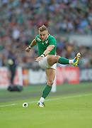 Wembley, Great Britain,  Kicker, Ian MADIGAN.  during the Pool D Game, Ireland vs Romania.  2015 Rugby World Cup, Venue, Wembley Stadium, London, ENGLAND.  Sunday  27/09/2015 <br /> <br /> Mandatory Credit; Peter Spurrier/Intersport-images]