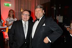 Left to right, JONATHAN SHALIT and LORD STRATHCLYDE at a party to celebrate the 21st anniversary of The Roar Group hosted by Jonathan Shalit held at Avenue, 9 St.James's Street, London on 21st September 2015.
