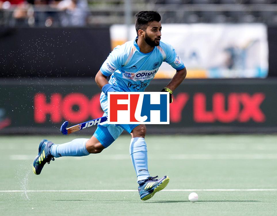 BREDA - Rabobank Hockey Champions Trophy<br /> India - Pakistan<br /> Photo: Manpreet Singh.<br /> COPYRIGHT WORLDSPORTPICS FRANK UIJLENBROEK