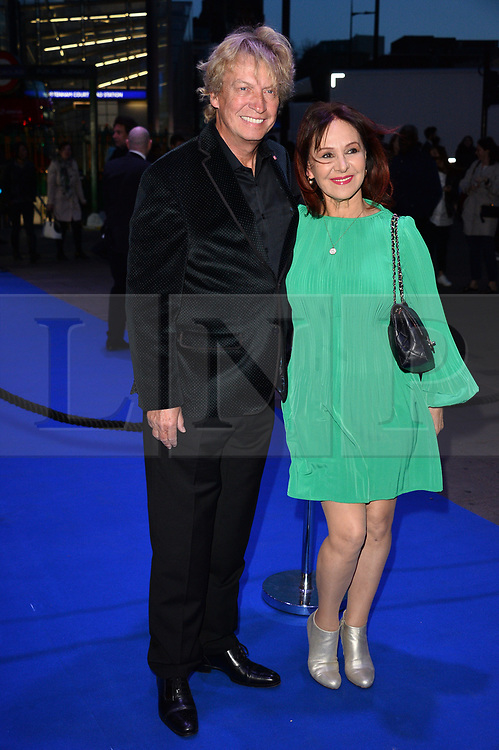 © Licensed to London News Pictures. 21/03/2017. NIGEL LYTHGO and ARLENE PHILLIPS<br />