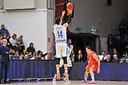 Eurocup 2015-2016 Last 32 Group N Dinamo Banco di Sardegna Sassari - Szolnoki Olaj <br /> GIOCATORE : Brian Sacchetti<br /> CATEGORIA : Tiro Tre Punti Three Point Controcampo<br /> SQUADRA : Dinamo Banco di Sardegna Sassari<br /> EVENTO : Eurocup 2015-2016 GARA : Dinamo Banco di Sardegna Sassari - Szolnoki Olaj <br /> DATA : 03/02/2016 <br /> SPORT : Pallacanestro <br /> AUTORE : Agenzia Ciamillo-Castoria/C.Atzori