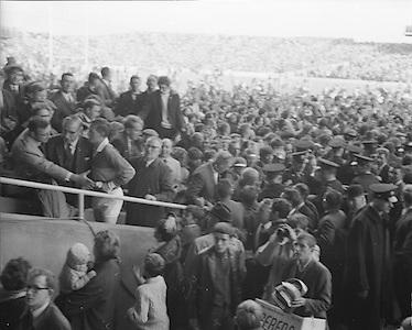 All Ireland Senior Football Championship Final, Kerry v Offaly, 28.09.1969, 09.28.1969, 28th September 1969, Kerry 0-10 Offaly 0-7, 28091969AISFCF, Referee  J Moloney (Tipperary) Captain J Culloty,..