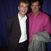 Uitreiking populariteitsprijs 2002, Chiel van Praag en Gerard Joling