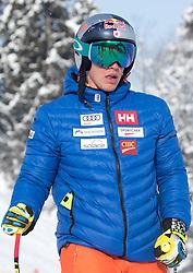 17.01.2017, Hahnenkamm, Kitzbühel, AUT, FIS Weltcup Ski Alpin, Kitzbuehel, Abfahrt, Herren, Streckenbesichtigung, im Bild Erik Guay (CAN) // Erik Guay of Canada during the course inspection for the men's downhill of FIS Ski Alpine World Cup at the Hahnenkamm in Kitzbühel, Austria on 2017/01/17. EXPA Pictures © 2017, PhotoCredit: EXPA/ Johann Groder