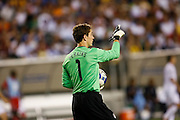 July 18 2009: Troy Perkins of USA during the game between USA and Panama. The United States defeated Panama 2-1 in added extra time in a CONCACAF Gold Cup quarter-final match at Lincoln Financial Field in Philadelphia, Pennsylvania.