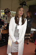 Melanie Blatt. The Louis Vuitton Clasic. Hurlingham Club, London. 2 June 2001. © Copyright Photograph by Dafydd Jones 66 Stockwell Park Rd. London SW9 0DA Tel 020 7733 0108 www.dafjones.com