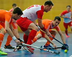 LEIZPIG - WC HOCKEY INDOOR 2015<br /> NED v POL (Pool B)<br /> Foto:ZYWICZKA Bartosz<br /> FFU PRESS AGENCY COPYRIGHT FRANK UIJLENBROEK