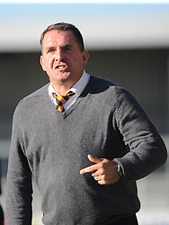 Martin Allen Manager Barnet FC, Barnet v Eastleigh, Vanarama Conference, Saturday 4th October 2014