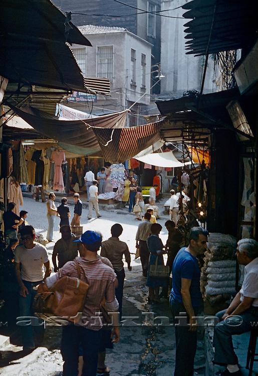 Bazaar in Istambul.