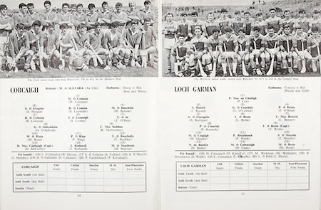 All Ireland Senior Hurling Championship Final,.01.09.1968, 09.01.1968, 1st September 1968,.Senior Tipperary v Wexford,  Wexford 5-08 Tipperary 3-12,.Minor Wexford v Cork,.Cork,.M Coleman, J Horgan, B Cummins, M Bohane, B Coleman, S Looney, T O'Shea, G O'Sullivan, K McSweeney, M Ryan, P Ring,  T Buckley, D McCarthy, J Rothwell, M Malone, W Glavin, S Collins,  J Murphy, D Callanan, P Kavanagh, .Wexford,.P Cox,  J Russell,  G O'Connor, P O'Brien, A Kerrigan, L Byrne, L Bennett, P Kennedy, T Byrne (capt), M Quigley, P Walsh, J Murphy, N Butler, M Casey, M Byrne, D Kinsella, M Wickham, B Walsh, L Kinsella, L Doyle,