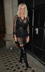 Chloe Sims attends Binky x In The Style launch party at the Libertine club in London, UK. 15/10/2015<br />BYLINE MUST READ : GOTCHAIMAGES.COM<br /><br />Copyright by © Gotcha Images Ltd. All rights reserved.<br />Usage of this image is conditional upon the acceptance <br />of Gotcha Images Ltd, terms and conditions available at<br />www.gotchaimages.com