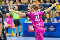 Gal Marguc of RK Celje Pivovarna Lasko during handball match between RK Celje Pivovarna Lasko and THW Kiel in Group Phase A+B of VELUX EHF Champions League, on November 19, 2017 in Arena Zlatorog, Celje, Slovenia. Photo by Ziga Zupan / Sportida