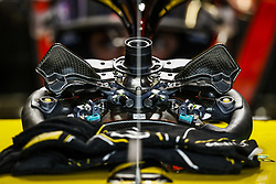 October 19, 2018 - Austin, United States - Renault Sport F1 Team RS18, Mechanical details of the steering wheel during the 2018 Formula One World Championship, United States of America Grand Prix from october 18 to 21 in Austin, Texas, USA -  /   Motorsports: FIA Formula One World Championship; 2018; Grand Prix; United States, FORMULA 1 PIRELLI 2018 UNITED S GRAND PRIX , Circuit of The Americas  (Credit Image: © Hoch Zwei via ZUMA Wire)