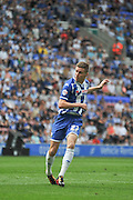 Wigan Striker Ryan Colclough during the Sky Bet League 1 match between Wigan Athletic and Barnsley at the DW Stadium, Wigan, England on 8 May 2016. Photo by John Marfleet.