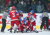 PREROV, CZECH REPUBLIC - JANUARY 11: Russia v Czech Republic quarterfinal round - 2017 IIHF Ice Hockey U18 Women's World Championship. (Photo by Steve Kingsman/HHOF-IIHF Images)