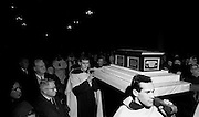 On St Valentine's Day, the remains of the saint, which are kept in the Carmelite Church in Whitefriar Street, Dublin, are taken from the shrine to the high altar where a special Mass is celebrated.  .14.02.1968