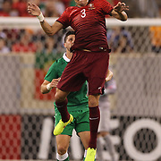 Pepe, Portugal, in action during the Portugal V Ireland International Friendly match in preparation for the 2014 FIFA World Cup in Brazil. MetLife Stadium, Rutherford, New Jersey, USA. 10th June 2014. Photo Tim Clayton