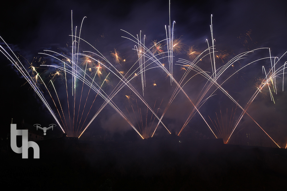 Fireworks and the finale of The Edinburgh Festival 2011