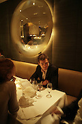 Jamie Dorman , Natalia Vodianova and Elle Macpherson host a dinner in honor of Francisco Costa (creative Director for women) and Italo Zucchelli (creative director for men)  of Calvin Klein. Locanda Locatelli, 8 Seymour St. London W1. ONE TIME USE ONLY - DO NOT ARCHIVE  © Copyright Photograph by Dafydd Jones 66 Stockwell Park Rd. London SW9 0DA Tel 020 7733 0108 www.dafjones.com