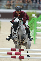 Al Thani, Sheik Ali bin Khaled, Eurocommerce California<br /> Paris - Saut Hérmes 2013<br /> © www.sportfotos-lafrentz.de/Stefan Lafrentz
