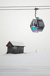 THEMENBILD - Teile der Liftanlagen und Pisten im Grossglockner Resort Kals Matrei sind seit Samstag im Betrieb. Aufgenommen am 6. Dezember 2014. EXPA Pictures © 2014, PhotoCredit: EXPA/ Johann Groder