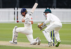 England Tom Curran sweeps a delivery fine for a boundary  during day one of the Tour match at Richardson Park, Perth. PRESS ASSOCIATION Photo. Picture date: Saturday December 9, 2017. Photo credit should read: Jason O'Brien/PA Wire