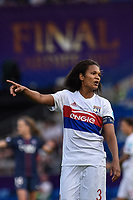 Wendie Renard†(captain) of Olympique Lyon during the UEFA Women's Champions League Final between Lyon Women and Paris Saint Germain Women at the Cardiff City Stadium, Cardiff, Wales on 1 June 2017. Photo by Giuseppe Maffia.<br /> <br /> <br /> Giuseppe Maffia/UK Sports Pics Ltd/Alterphotos