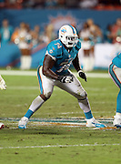 Miami Dolphins guard John Jerry (74) blocks during the NFL week 9 football game against the Cincinnati Bengals on Thursday, Oct. 31, 2013 in Miami Gardens, Fla.. The Dolphins won the game 22-20 in overtime. ©Paul Anthony Spinelli