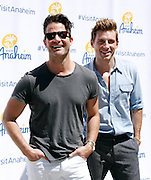 Nate Berkus and Jeremiah  Brent attend the #VisitAnaheim in 3D event in the Flatiron District in New York City, New York on June 24, 2015.