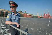 Red Square. Kremlin walls (l.) with Lenin Mausoleum, Historic Museum (r.)..A river cruise from Moscow to St. Petersburg aboard MS Kazan, the most luxurious vessel (four star plus) operating in Russia. It is run by Austrian River Cruises under strictly Western standards, chartered - amongst others - by Club 50, a senior's travel agency based in Vienna.