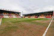 View of the Northern Commercials Stadium during the EFL Sky Bet League 1 match between Bradford City and Gillingham at the Northern Commercials Stadium, Bradford, England on 24 March 2018. Picture by Paul Thompson.