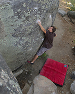 Gp Salvo climbing Hardest Crimps at Groom Creek (V8)
