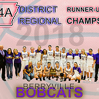 Girls Basketball 2018 (Regional and District) Collage