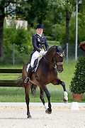 Tove Melin - Dawson 5<br /> FEI European Championships Dressage Juniors and Young Riders 2012<br /> © DigiShots