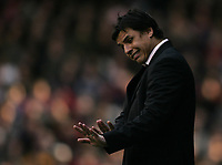 Photo: Lee Earle.<br /> Fulham v Stoke City. The FA Cup. 27/01/2007.Fulham manager Chris Coleman.