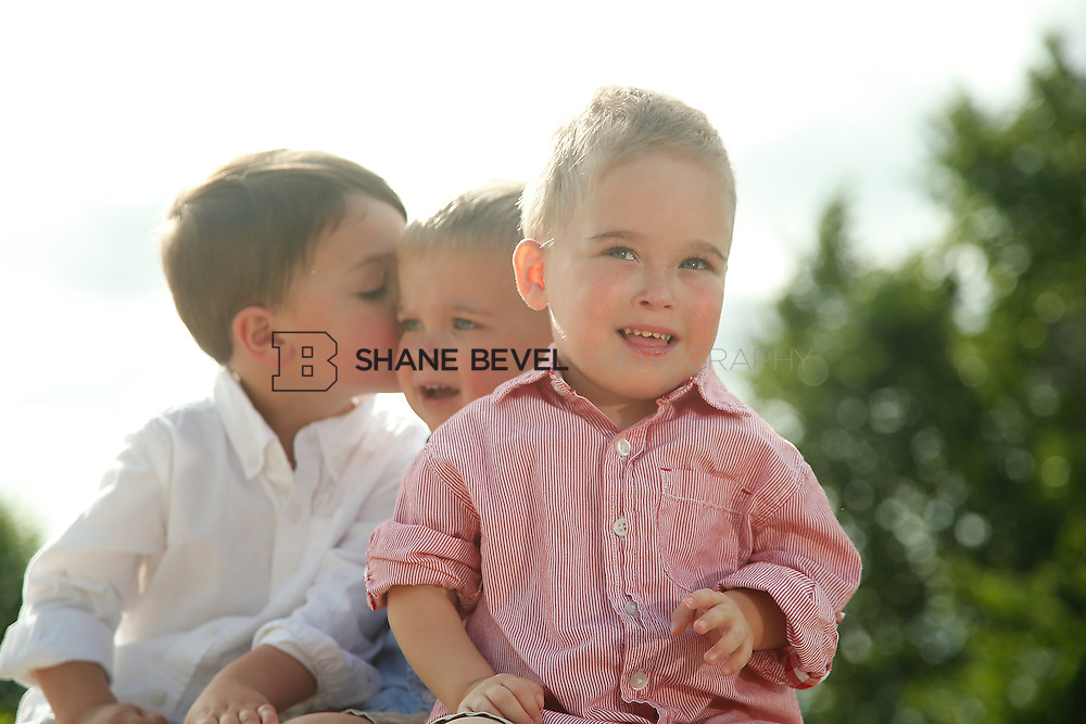 5/28/15 5:40:44 PM -- Miracle Miles and his family pose for portraits and play at the QuikTrip park for the 2015 Saint Francis Health System advertising campaign. <br /> <br /> Photo by Shane Bevel