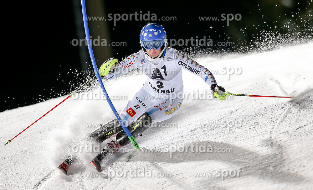 13.01.2015, Hermann Maier Weltcupstrecke, Flachau, AUT, FIS Weltcup Ski Alpin, Flachau, Slalom, Damen, 1. Lauf, im Bild Maria Pietilae-Holmner (SWE) // Maria Pietilae-Holmner of Sweden in action during 1st run of the ladie's Slalom of the FIS Ski Alpine World Cup at the Hermann Maier Weltcupstrecke in Flachau, Austria on 2015/01/13. EXPA Pictures © 2015, PhotoCredit: EXPA/ Johann Groder