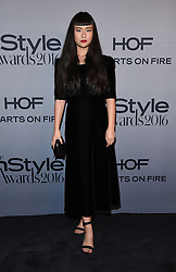 October 24, 2016 - Los Angeles, California, U.S. - Asia Chow arrives for the InStyle Awards 2016 at the Getty Center. (Credit Image: © Lisa O'Connor via ZUMA Wire)