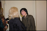 DEBBIE HARRY; SHARLEEN SPITERI, Chris Stein / Negative: Me, Blondie, and The Advent of Chris Stein / Negative: Me, Blondie, and The Advent of Punk - private view, Somerset House, the Strand. London. 5 November 2014.