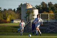 Laconia boys varsity soccer with Franklin.    Karen Bobotas for the Laconia Daily Sun