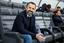 Dusan Kosic, head coach of NK Celje during football match between NK Olimpija Ljubljana and NK Celje in 1st leg match in Semifinal of Slovenian cup 2017/2018, on April 4, 2018 in SRC Stozice, Ljubljana, Slovenia. Photo by Urban Urbanc / Sportida