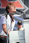 Photos of Hanson performing at The Bamboozle in East Rutherford, New Jersey on May 1, 2010.