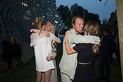 GABRIELLA CALTHORPE; GEORGINA FORBES; ALAN POWNALL; CRESSIDA BONAS, 2016 SERPENTINE SUMMER FUNDRAISER PARTY CO-HOSTED BY TOMMY HILFIGER. Serpentine Pavilion, Designed by Bjarke Ingels (BIG), Kensington Gardens. London. 6 July 2016
