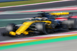 March 6, 2018 - Barcelona, Catalonia, Spain - the Renault of Nico Hulkenberg during the tests at the Barcelona-Catalunya Circuit, on 06th March 2018 in Barcelona, Spain. (Credit Image: © Joan Valls/NurPhoto via ZUMA Press)